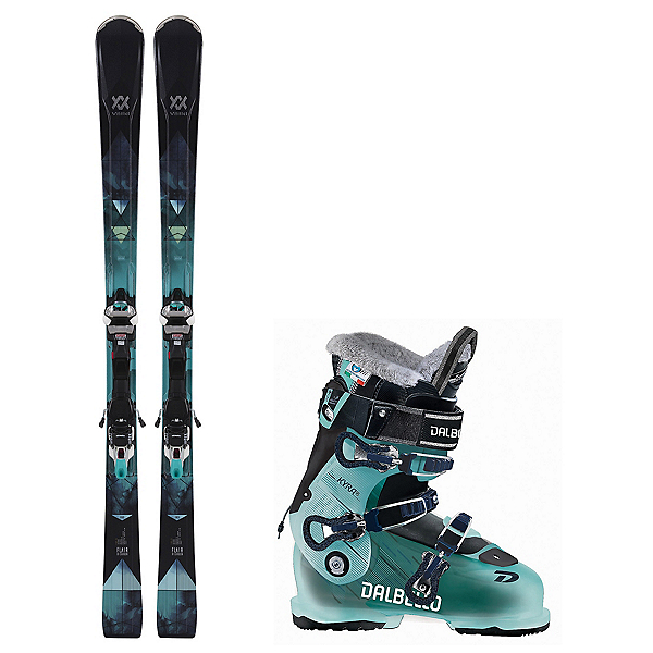 Volkl Flair 81 Kyra 95 Womens Ski Package 2019, , 600