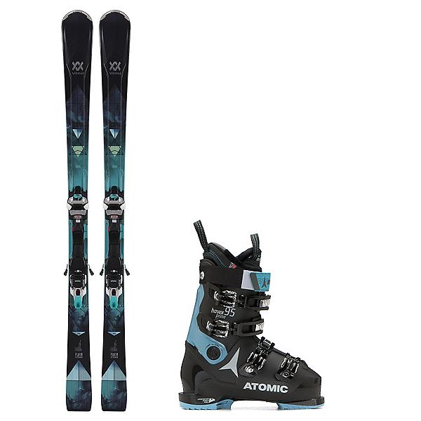 Volkl Flair 81 Hawx Prime 95 Womens Ski Package 2019, , 600