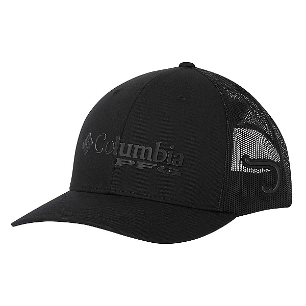 Columbia PFG Mesh Snap Back Hat, Black-Hook, 600