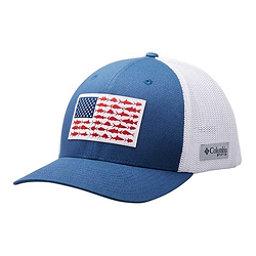 b5dd22d5 ... colorswatch30 Columbia PFG Mesh Fish Flag Hat, Night Tide-White, 256