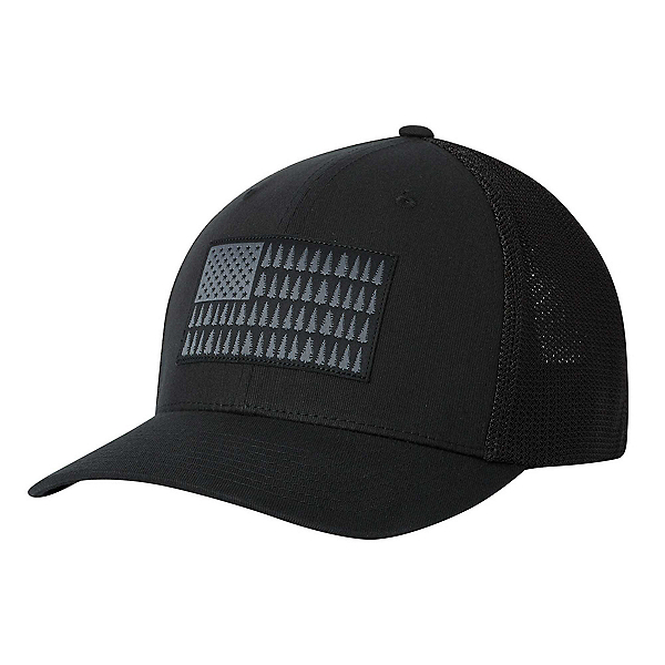 Columbia Mesh Tree Flag Hat, Black, 600
