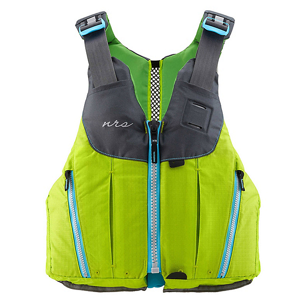 NRS Nora Womens Kayak Life Jacket 2019, Green, 600