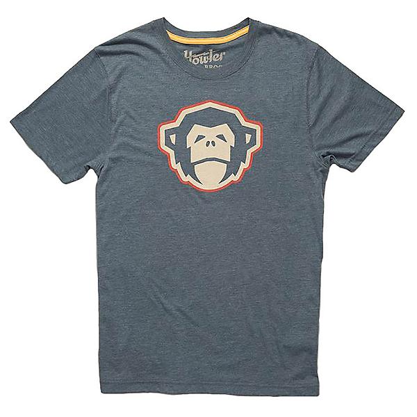 Howler Brothers Select Mens T-Shirt, El Mono Indigo, 600