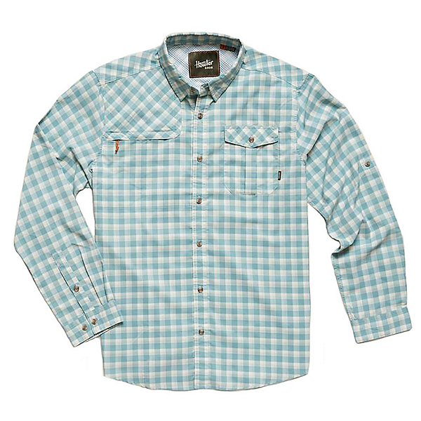 Howler Brothers Matagorda Mens Shirt, Seaspray, 600