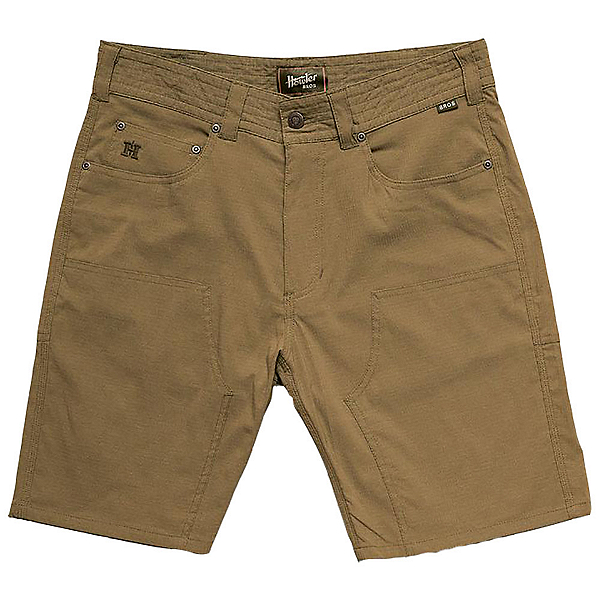 Howler Brothers Watermans Work Mens Hybrid Shorts, Soldier Green, 600