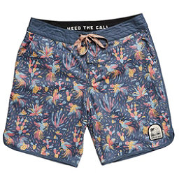 a06cf876fe4e43 Howler Brothers Stretch Bruja Mens Board Shorts, Gallos Galore Print Navy,  256