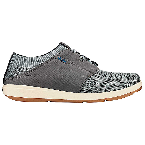 OluKai Makia Ulana Kai Mens Shoes, Poi-Charcoal, 600