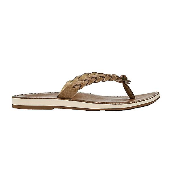 OluKai Kahkio Womens Flip Flops, Sting-Tan, 600