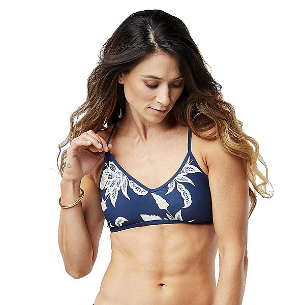 Carve Designs Catalina Bathing Suit Top 2019, Batik Floral, 600