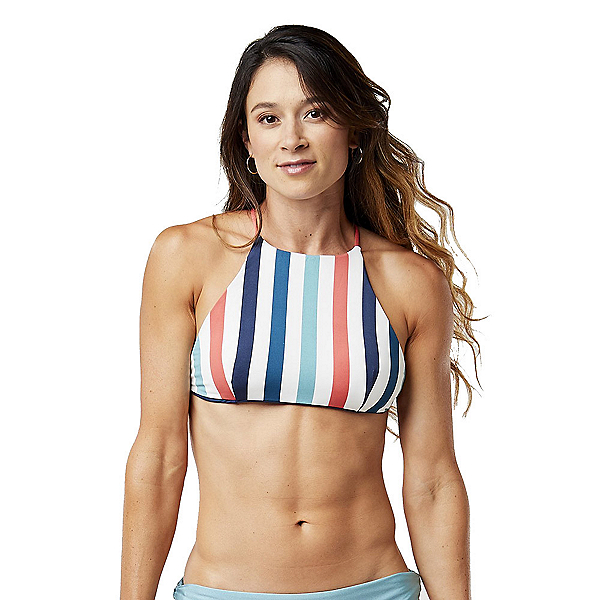 Carve Designs Bali Reversible Bathing Suit Top 2019, Nantucket-Dusk, 600