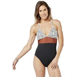 a5ab98a0fa01c Carve Designs Dahlia One Piece Swimsuit, White Tile, 256
