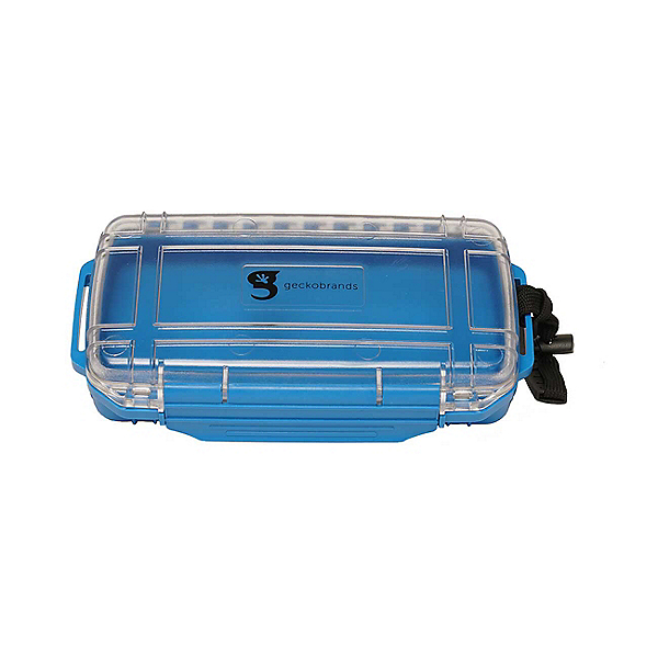 Geckobrands Waterproof Box 2019, Blue, 600