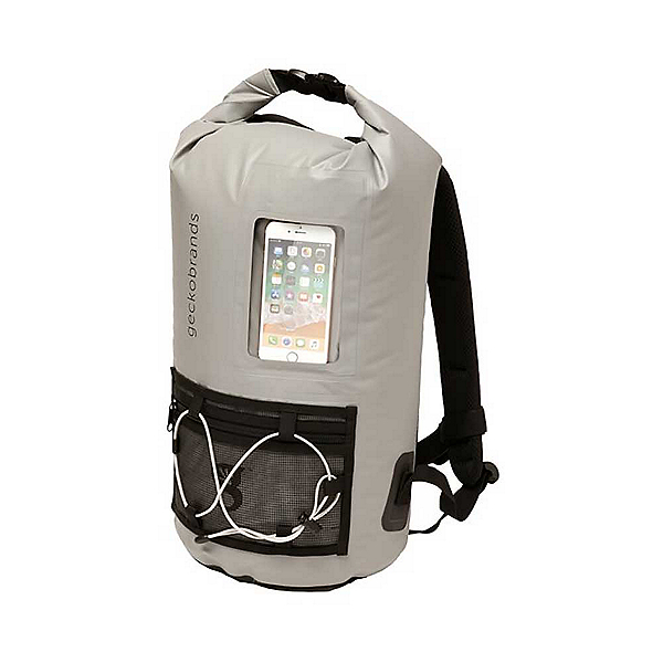 Geckobrands Backpack with Phone Window Dry Bag, , 600