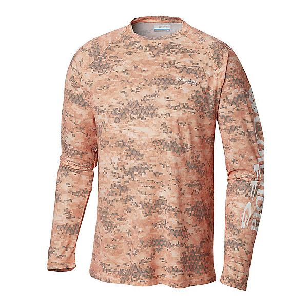Columbia PFG Terminal Deflector Printed Long Sleeve Mens Shirt, , 600