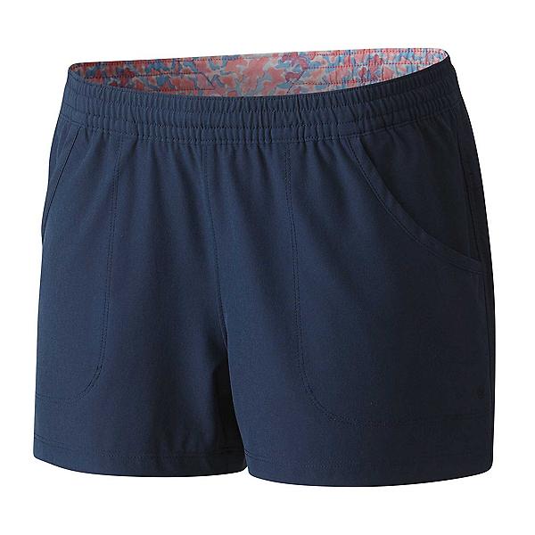 Columbia Tidal Womens Shorts, Collegiate Navy Dotty Palms, 600