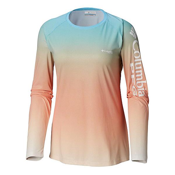Columbia Tidal Deflector Womens Shirt, Riptide Gradient, 600