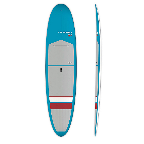 BIC Sport Performer Tough 11'6 Recreational Stand Up Paddleboard, Blue-Red, 600