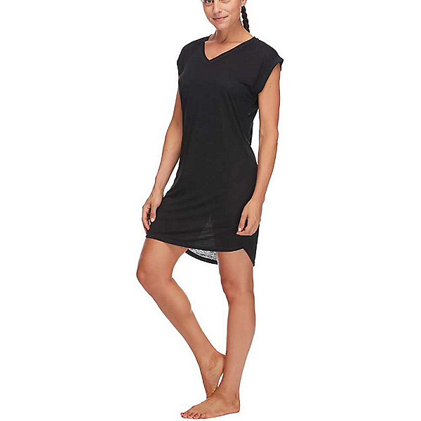 Body Glove Ella Dress Bathing Suit Cover Up, Black, 600