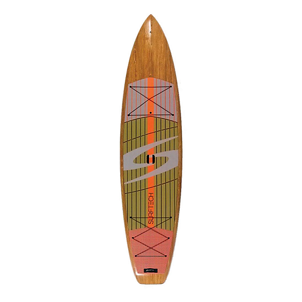 Surftech Promenade 11'6 Touring Stand Up Paddleboard 2020, Wood-Orange, 600