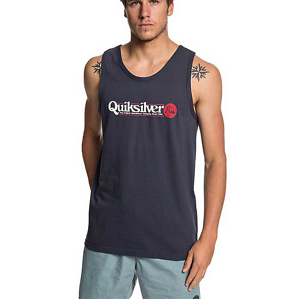 Quiksilver Art Tickle Tank Top, Blue Nights, 600