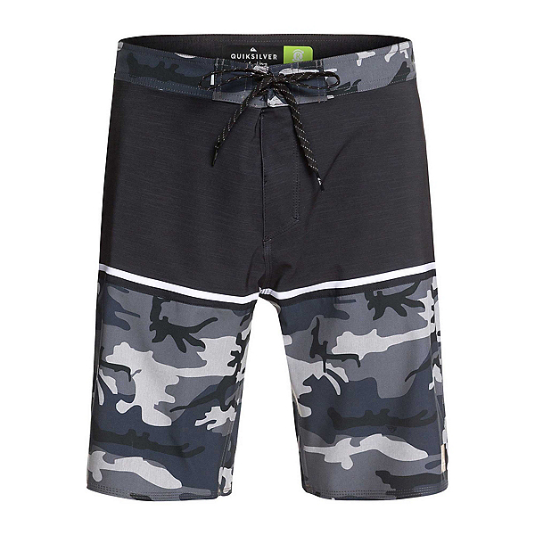Quiksilver Highline Division Mens Board Shorts, Iron Gate, 600