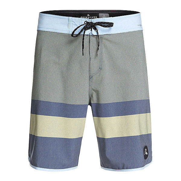 Quiksilver Highline Tijuana Mens Board Shorts, True Navy, 600