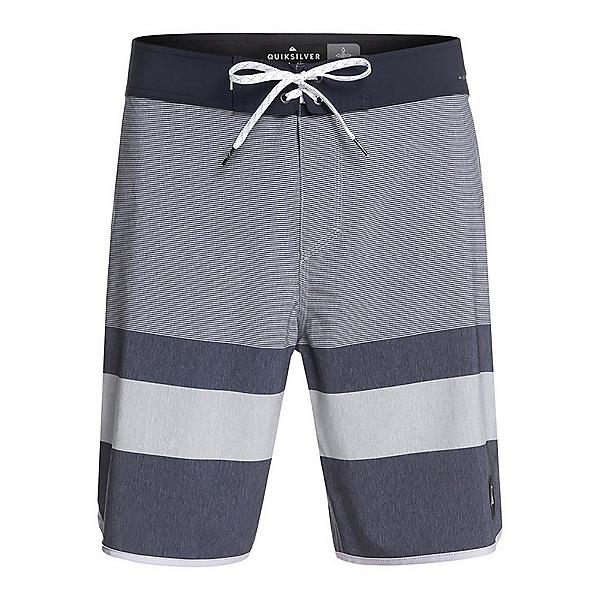 Quiksilver Highline Tijuana Mens Board Shorts, Sleet, 600