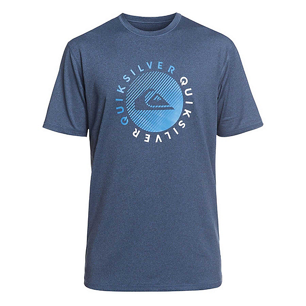 Quiksilver Razors Short Sleeve Mens Rash Guard, , 600