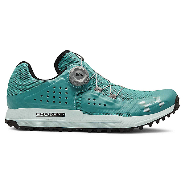 Under Armour Syncline Womens Watershoes, Azure Teal-Fuse Teal-Mod Gray, 600