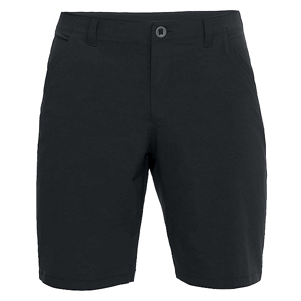 Under Armour Fish Hunter 2.0 Mens Hybrid Shorts, Black-Black, 600