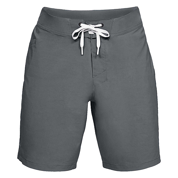 Under Armour Fish Hunter Mens Board Shorts, Pitch Gray-Elemental, 600