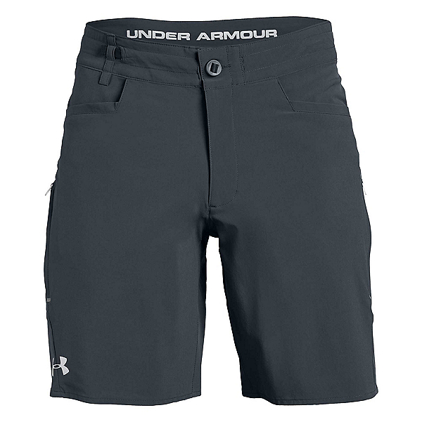 Under Armour Shoreman Mens Board Shorts, Stealth Gray-Elemental, 600