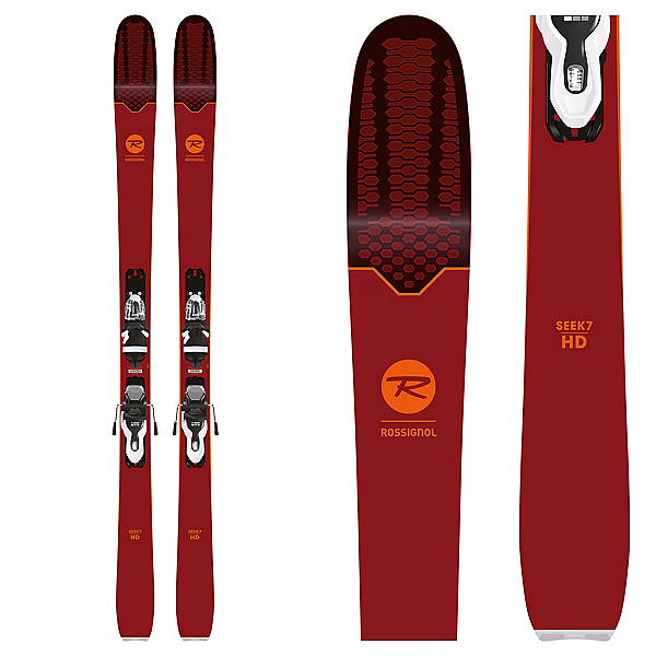 Rossignol Seek 7 HD Skis with Xpress 10 Bindings 2019, , 600