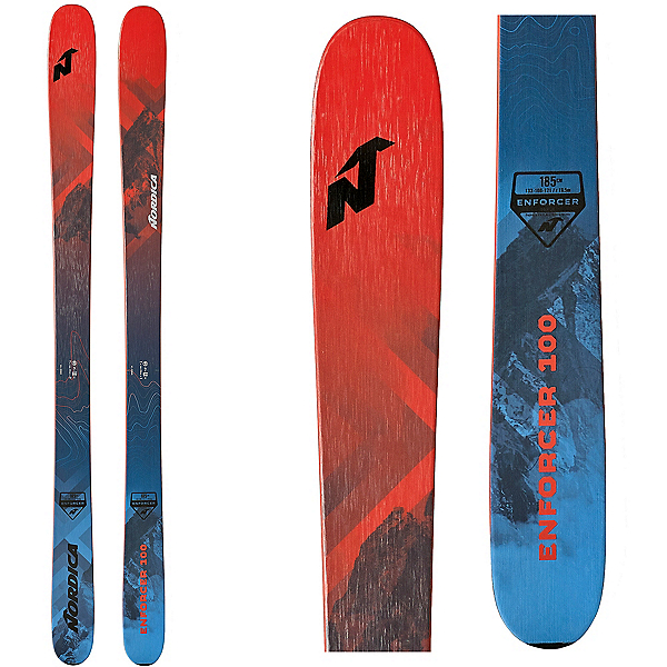 Nordica Enforcer 100 Skis 2020, , 600