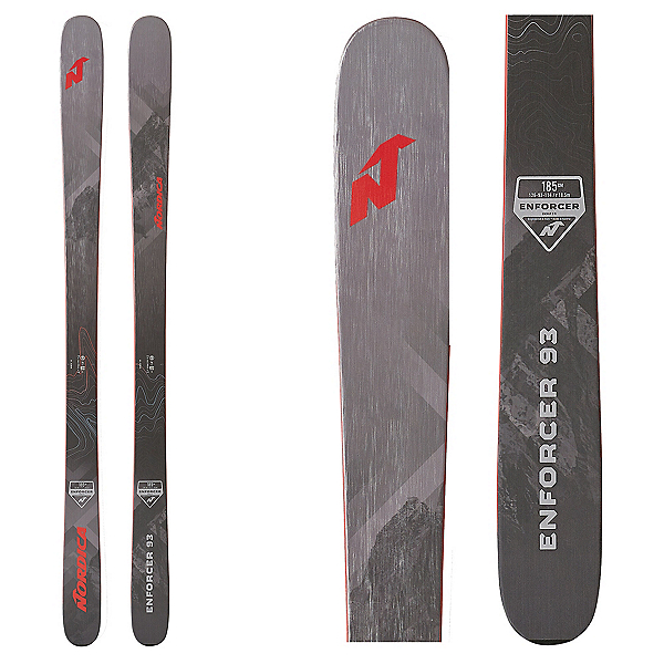 Nordica Enforcer 93 Skis 2020, , 600