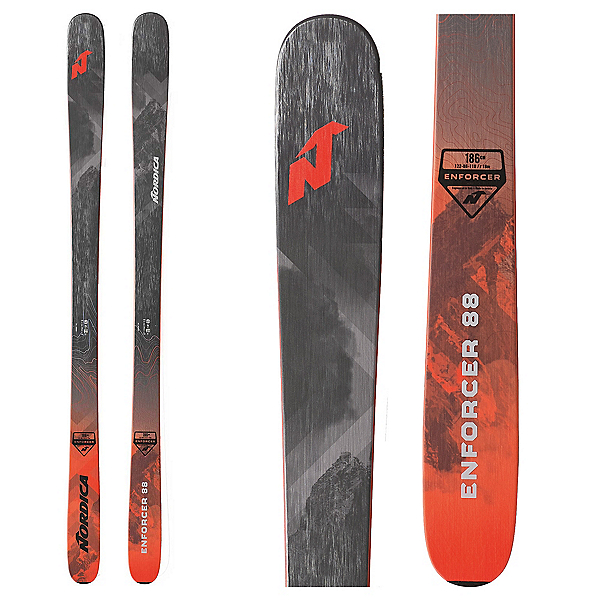 Nordica Enforcer 88 Skis 2020, , 600