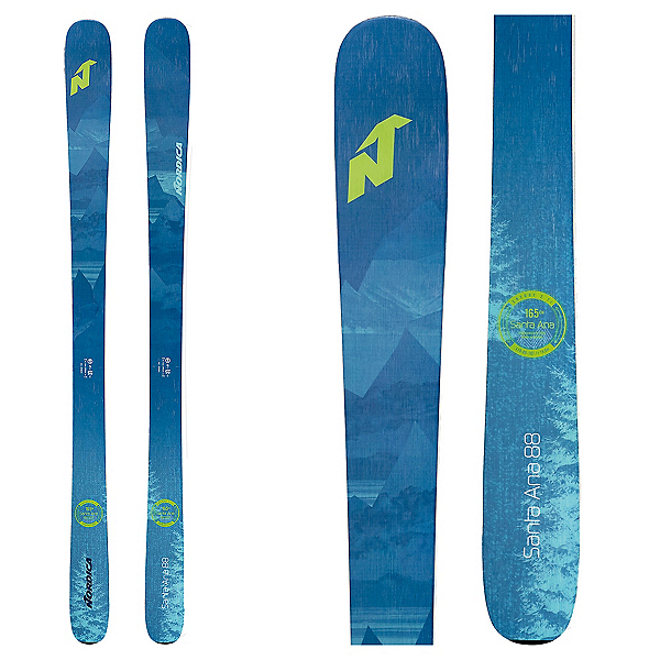Nordica Santa Ana 88 Womens Skis 2020, , 600