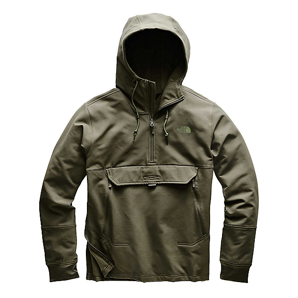 The North Face Tekno Ridge Pullover Mens Hoodie (Previous Season), New Taupe Green, 600