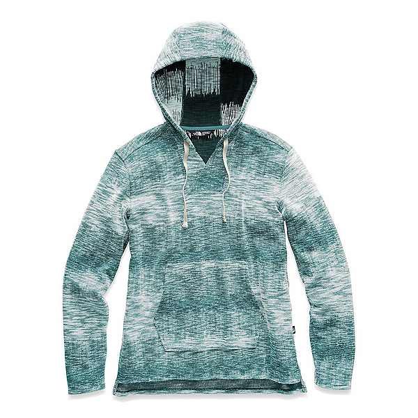 The North Face Wells Cove Pullover Womens Hoodie (Previous Season) 2019, Storm Blue Heather, 600