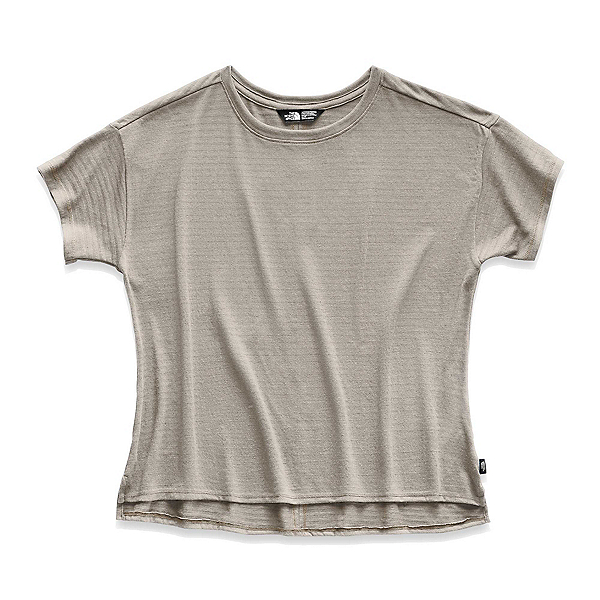 The North Face Emerine Womens Shirt (Previous Season) 2019, Silt Grey Desert Stripe, 600