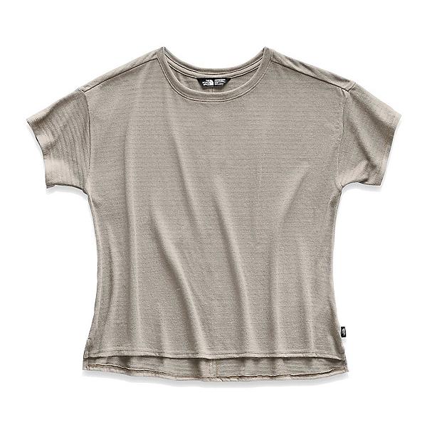 The North Face Emerine Womens Shirt (Previous Season), Silt Grey Desert Stripe, 600