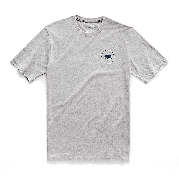 The North Face Bearitage Rights Mens T-Shirt, TNF Light Grey Heather, 600