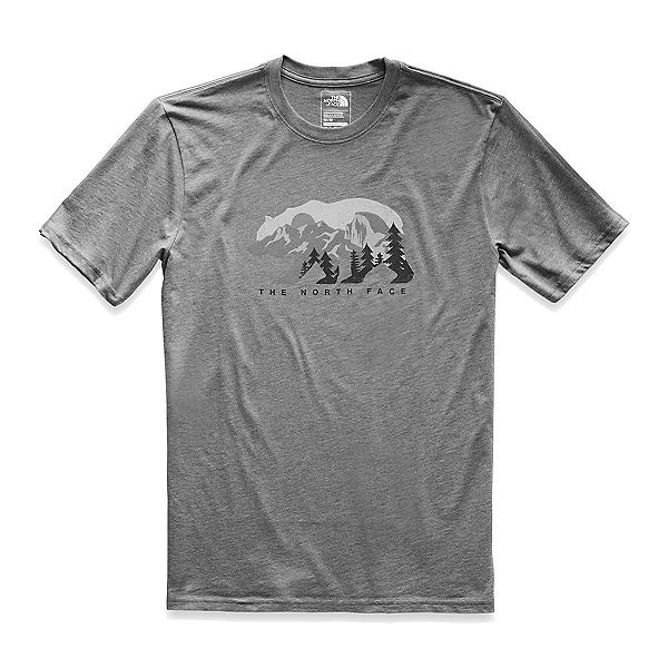 The North Face Bearitage Rights Mens T-Shirt (Previous Season), TNF Medium Grey Heather, 600