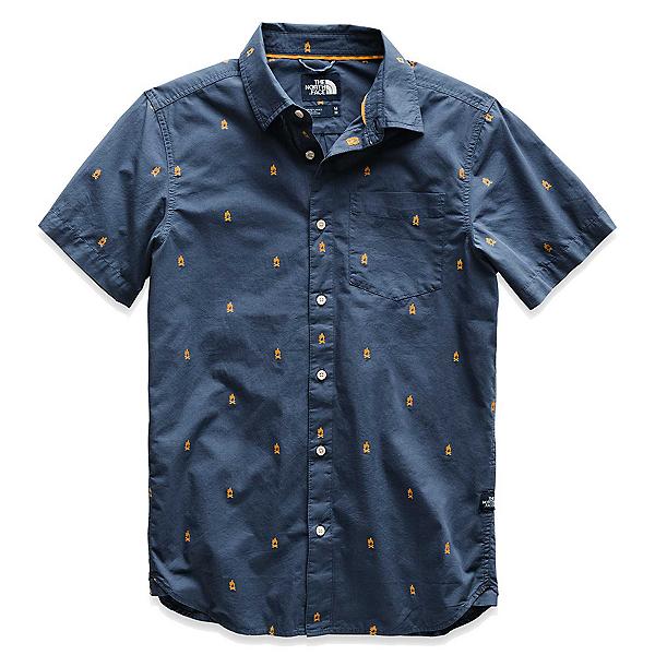 The North Face Baytrail Jacquard Mens Shirt (Previous Season), Shady Blue Campfire Jacquard, 600