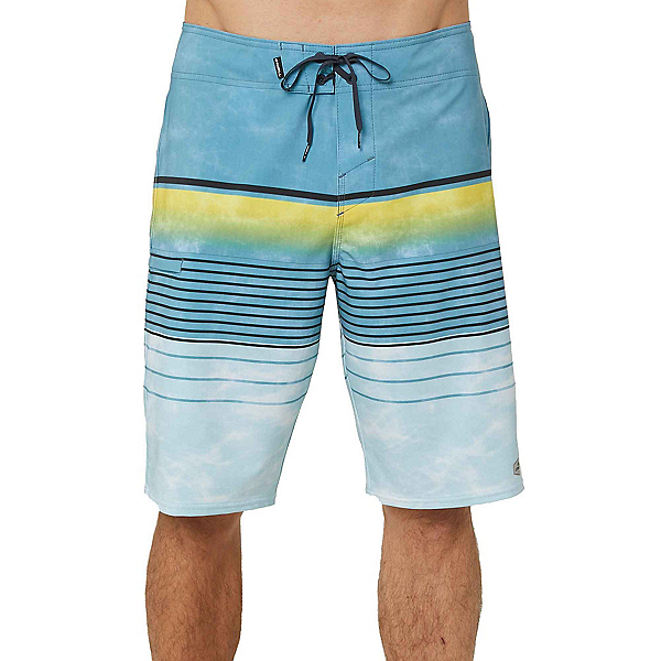 O'Neill Hyperfreak Heist Mens Board Shorts, Blue, 600