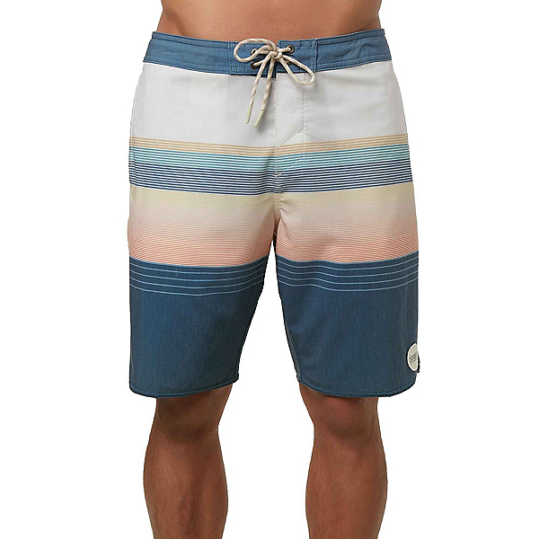 O'Neill Stripe Club Cruzer Mens Board Shorts, Bone, 600