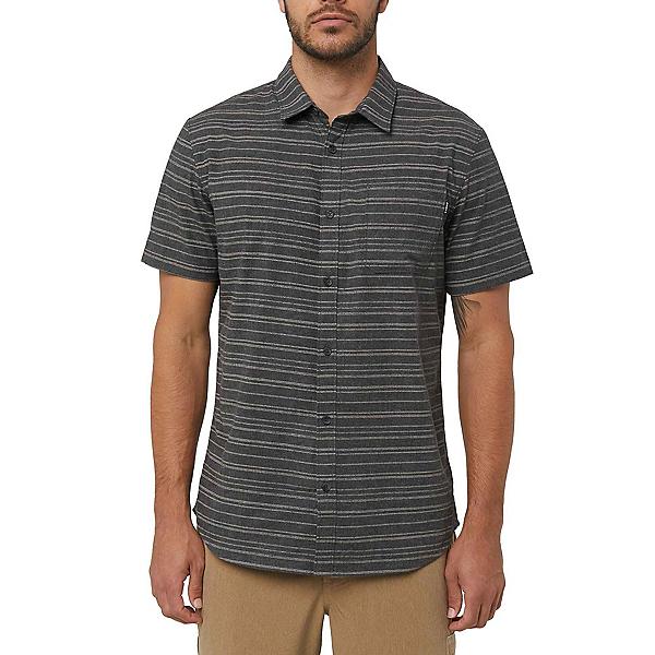 O'Neill Collins Mens Shirt, Black Heather, 600