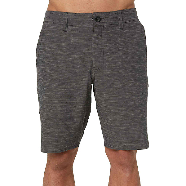 O'Neill Locked Slub Mens Hybrid Shorts, Asphalt, 600