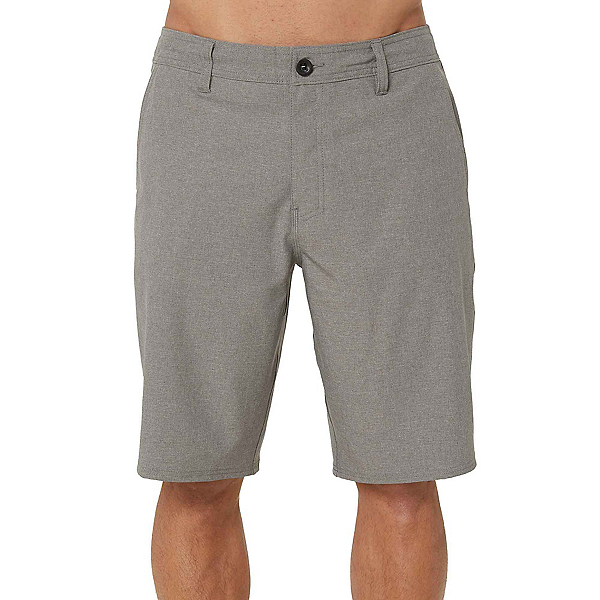 O'Neill Reserve Heather Mens Hybrid Shorts, Heather Grey, 600