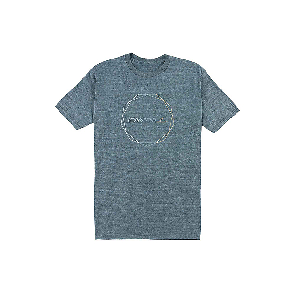 O'Neill Flashback Mens T-Shirt, Blue Heather, 600